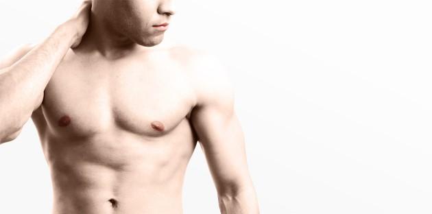 Korrektur der Bauchdecke Mann