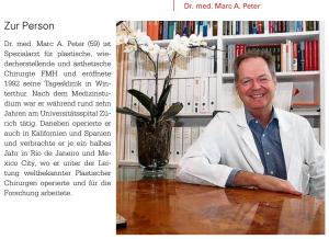Dr. Marc A. Peter im GESUNDHEITSmagazin